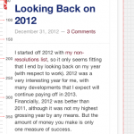Preview of my site on an iPhone